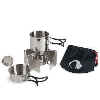Компактный набор посуды с горелкой Alcohol Burner Set