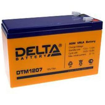 Аккумулятор Delta DTM 1207 (12В, 7А)