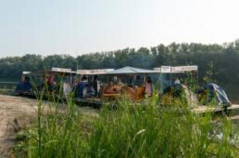 Сплав на плоту по маршруту Александровка Донская-Старая Калитва