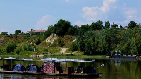 Сплав на плоту по маршруту Новогригорьевка-Трехостровская