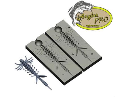 Формы для отливки силиконовых приманок от Angler Pro