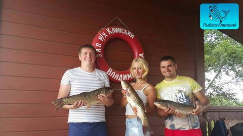 Рыбалка в Рыбхозе Клинский