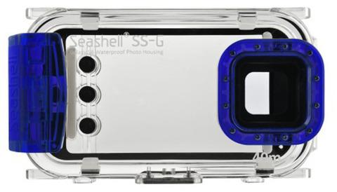 Подводный бокс для смартфона Seashell SS-G blue