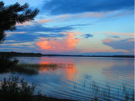 Мини-турбаза на берегу озера Селигер